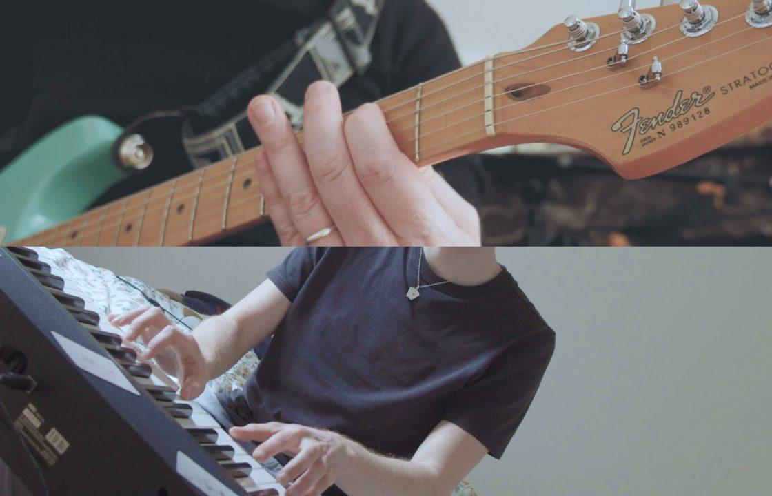 Skal au piano et Jérôme THIERRY sur sa guitare Fender Stratocaster